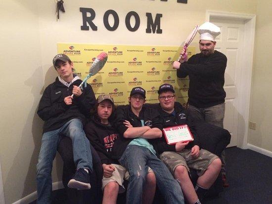 Adventure Escape Room Hershey: 18th birthday fun!!