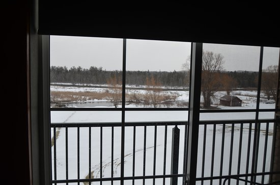 Alanson, MI: Third floor view out our window.
