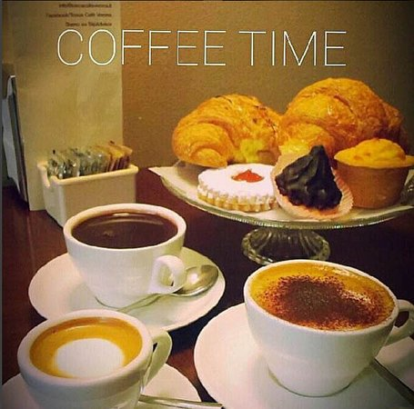 Tosca Cafe: Coffee time