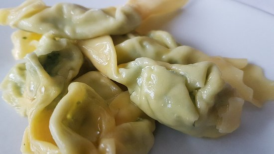Piozzano, Italien: Il Gelso: tortelli piacentini ricotta e spinaci