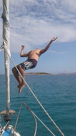 Souda, Greece: Be free, enjoy...