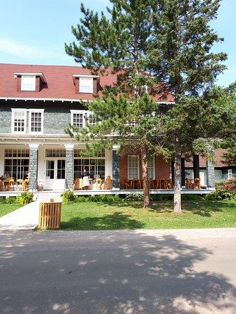 Village historique de Val-Jalbert: maison historique ET hotel