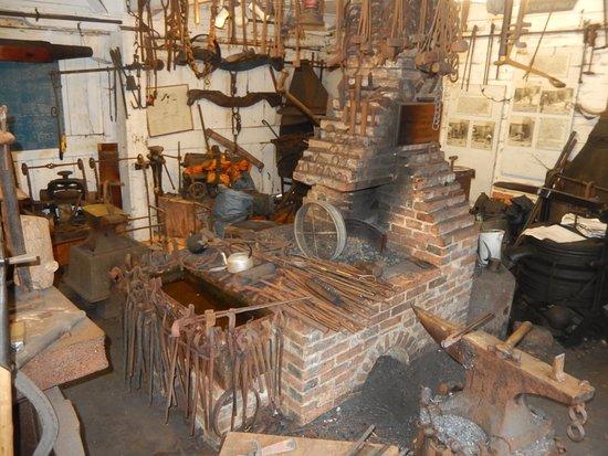 Arlington, UK: Forge at Michelham Priory