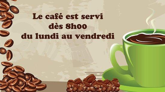Riviere-Ouelle, كندا: Nous avons adopté un café sélectionné de la Brûlerie de l'Est