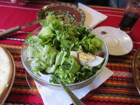 Shiroka Laka, Bulgaria: salad