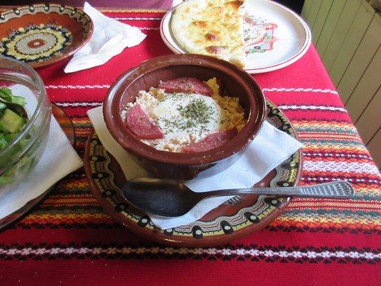 Shiroka Laka, Bulgaria: cheese rodopian style