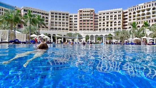 Beautiful Large Pool Picture Of The Ritz Carlton Abu Dhabi Grand Canal Tripadvisor