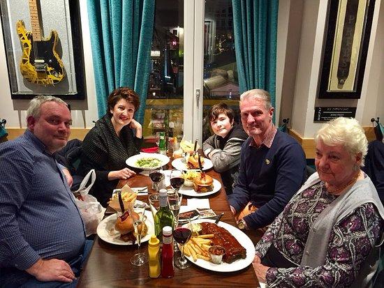 Hard Rock Cafe Antwerp: Lekker gegeten!