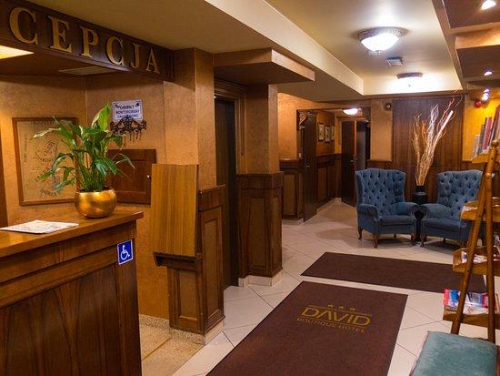David Boutique Hotel: Hotel Reception