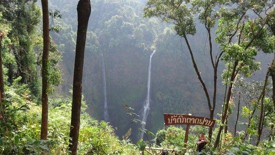 Paksong, Laos: l'unique point de vue
