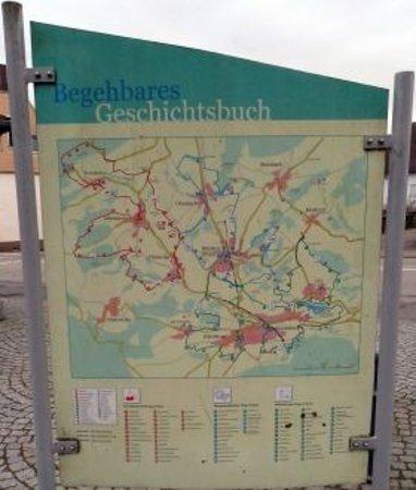 Schoenenberg-Kuebelberg, Germany: Wandern auf dem Begehbares Geschichtsbuch