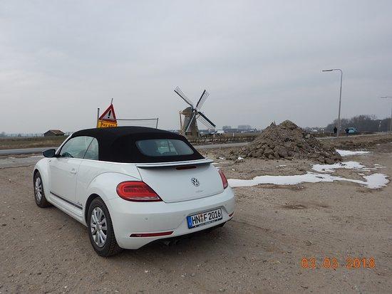 Beach Hotel Noordwijk: Windmühle so wie es sich für Holland gehört