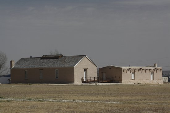 Fort Stockton, TX: One of the buildings at the fort
