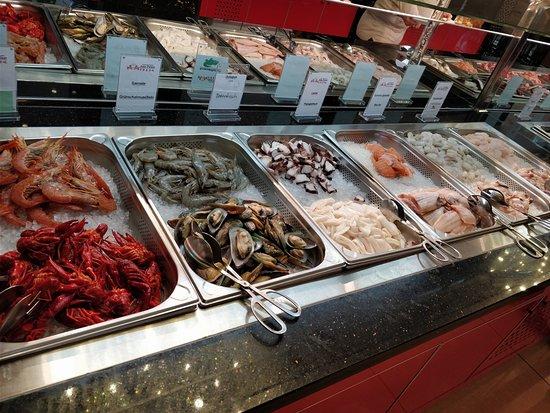 Sea Food Fürs Bbq Picture Of Asia Palast Chemnitz Tripadvisor
