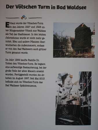 History Of The Tower You Are In Picture Of Spaetzlemuseum Bad