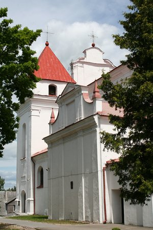 Church of the Assumption of the Blessed Virgin Mary into Heaven   Raseiniai, Lithuania