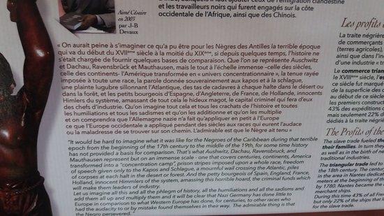 La Savane des Esclaves : texte d'Aimé CESAIRE