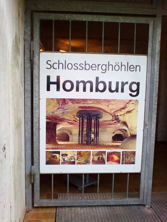 Хомбург, Германия: Die Schlossberghöhlen in Homburg
