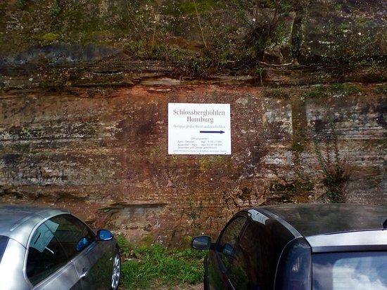 Die Schlossberghöhlen in Homburg