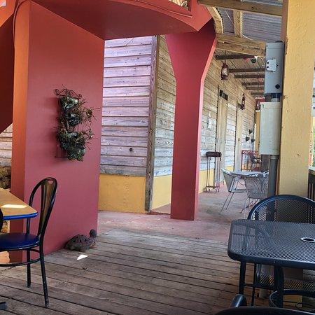 Las Marias, เปอร์โตริโก: Rico toston burger y carne frita