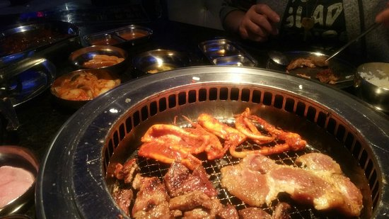 Iron Age Korean Restaurant: Awesome Brunch!! This food is delightful! I think I cried a little. Nicodemus, Hamzo,Bruce were