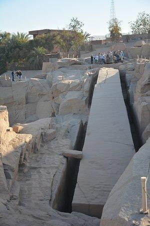 Unfinished Obelisk : quebrou
