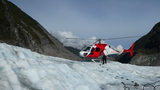 Fox Glacier Guiding: Heli drop off
