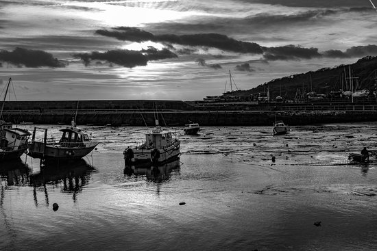 The Cobb: Lyme Regis Cobb - low tide