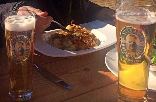 Hirschegg, Austria: cerveza