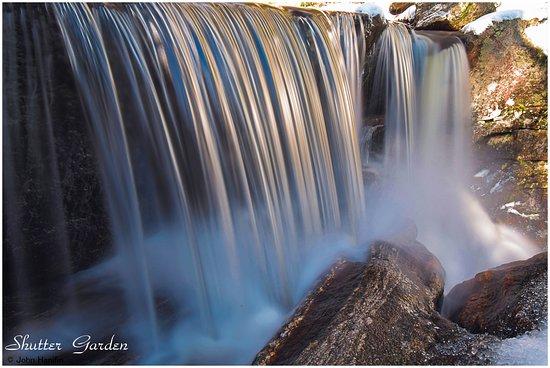 Granby, Κονέκτικατ: Fifth waterfall close up