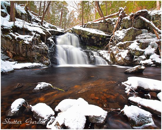 Granby, CT: Sixth waterfall. Only quarter mill hike down to this one