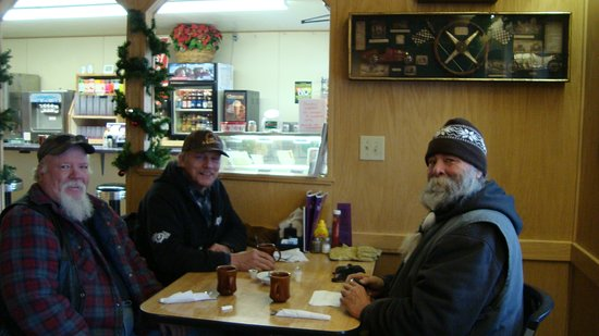 "Valier, MT: finally with my buddies,having the best breakfast in the world at the"" pantera"""