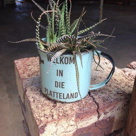 Christiana, Sør-Afrika: De Oude Werf Restaurant