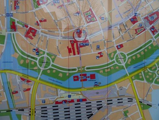 Map Area Hoofdstation Groningen build 1896 - Picture of Hoofdstation ...