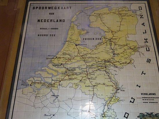 RAILWAY MAP 1900;Architecture;Hoofdstation Groningen build 1896 ...