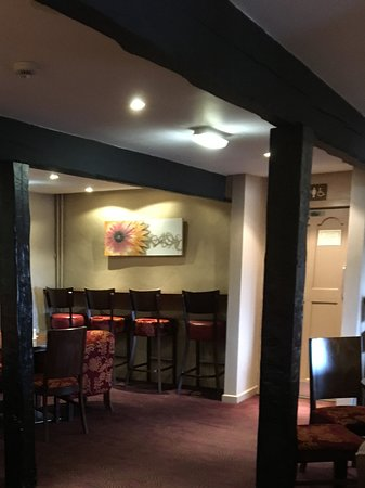 The Church Inn: Cosy corner