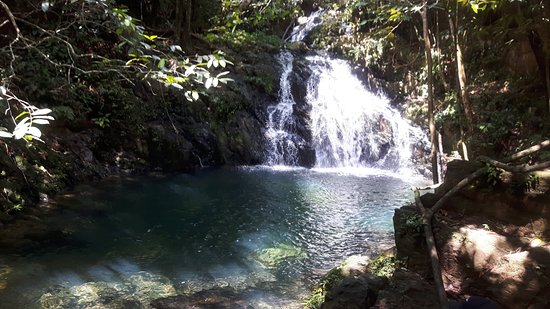 Stann Creek, Belize: The swimming hole!