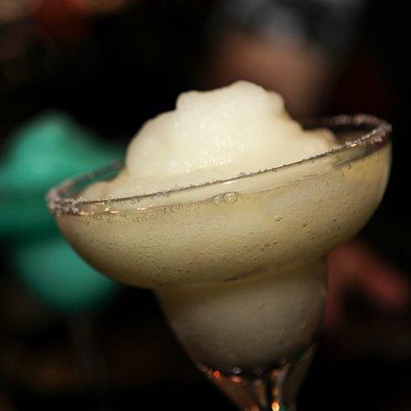 The Classic Lemon Margarita with a Frozen Twist