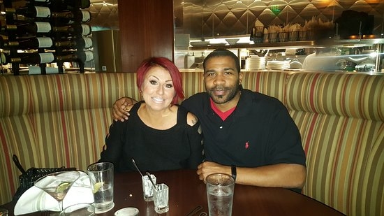 Seasons 52: We are happy campers when our stomachs are full of delicious food.