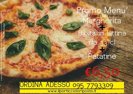 Riposto, Italia: Venite a trovarci o approfitta della Promo, per passare una serata in compagnia dei Vs amici.