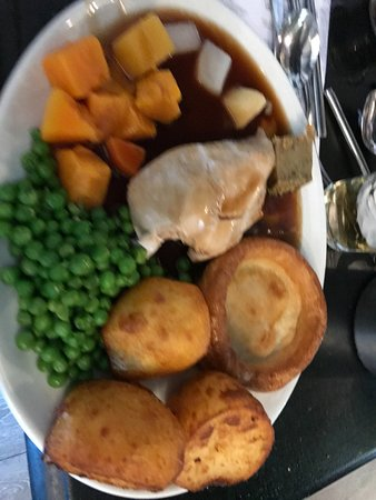 Pevensey, UK: Roast Dinner.