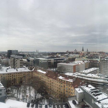 Вид с 17 этажа на Старый город