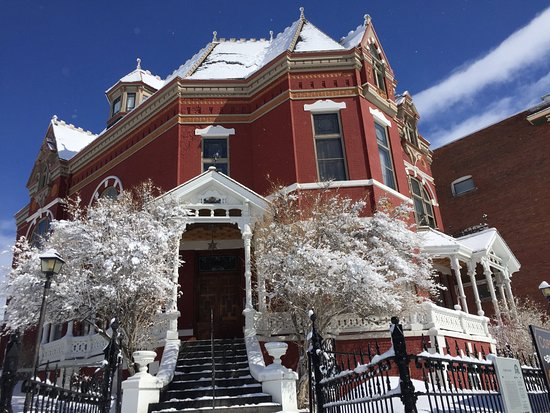 Butte, MT: Clark Mansion in winter