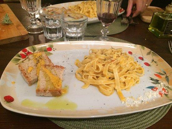 Casale Marittimo, Italy: Aglio olio e peperoncino a modo mio