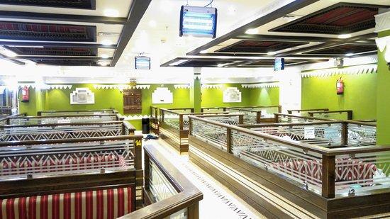 Al Seddah Restaurant: Inside of Restaurant
