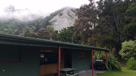 The Pavilion at Mangaweka Campground - great for bach style accommodation with family and friend