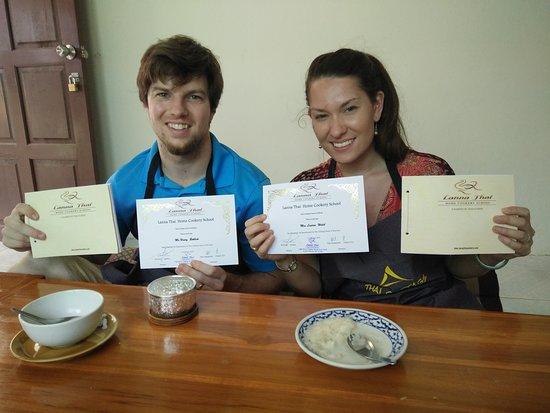 Tak Province, Thailand: Recipe Book And Certificate