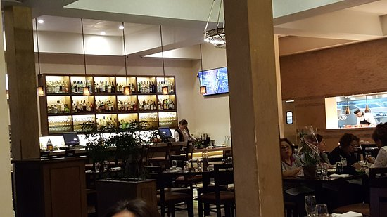 Full Bar Picture Of Amoura Restaurant South San Francisco