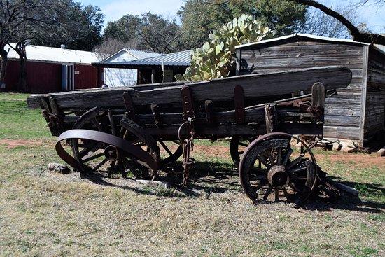 Buffalo Gap, Τέξας: wagon