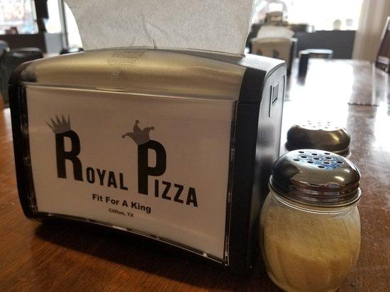 Clifton, تكساس: Royal Pizza Clifton